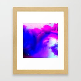 Abstract Bliss 1 by kathy Morton Stanion Framed Art Print