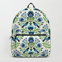 Polish Folk Birds Backpack