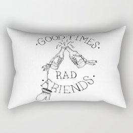 rad friends Rectangular Pillow