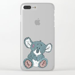 Cuddly Koala Clear iPhone Case