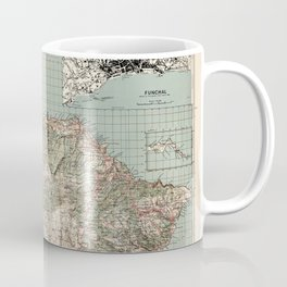Map Of Madeira 1941 Coffee Mug
