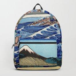 "Hokusai (1760-1849) ""The Fuji from Kanaya on the Tokaido"" Backpack"