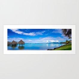 Tahiti Beach Art Print