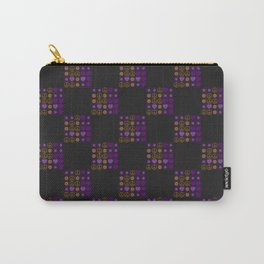 Halloween Patchwork Weave Carry-All Pouch