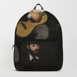 Edouard Manet - Music Lesson Backpack