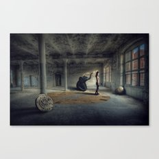 Time factory Canvas Print