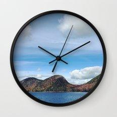 Wild Acadia Wall Clock