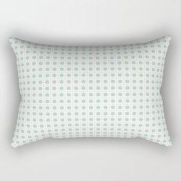 cuadros verdes Rectangular Pillow