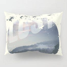 Happily lost Pillow Sham