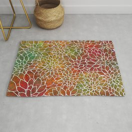 Floral Abstract 15 Rug