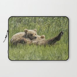 My Foot's So Pretty, Oh So Pretty - Bear Cubs, No. 2 Laptop Sleeve