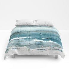 dissolving blues Comforters