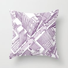 The Watched City Throw Pillow