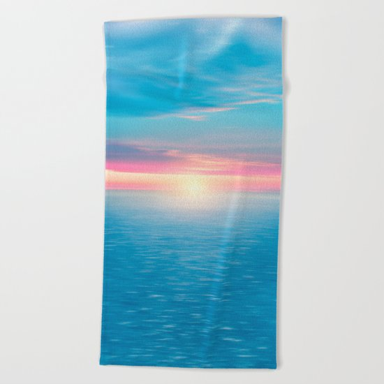 Pastel vibes 46 Beach Towel