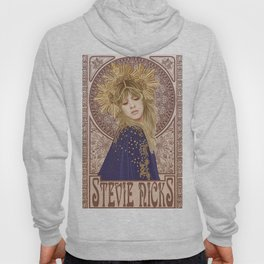 Stevie Nicks Poster Mucha Art Nouveau Hoody