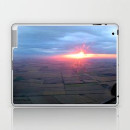 Flying at Sunset (Full Sutton) Laptop & iPad Skin
