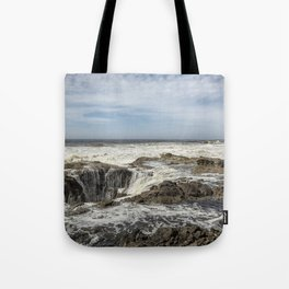 Thor's Well, No. 2 Tote Bag