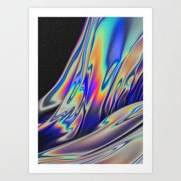NUIT NOIRE Art Print