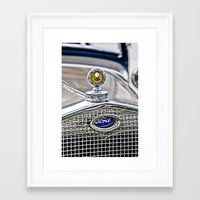 ford Framed Art Prints featuring Ford by Wicked Light Photography