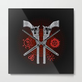 Perdition (Demon Hunter's Variant) Metal Print