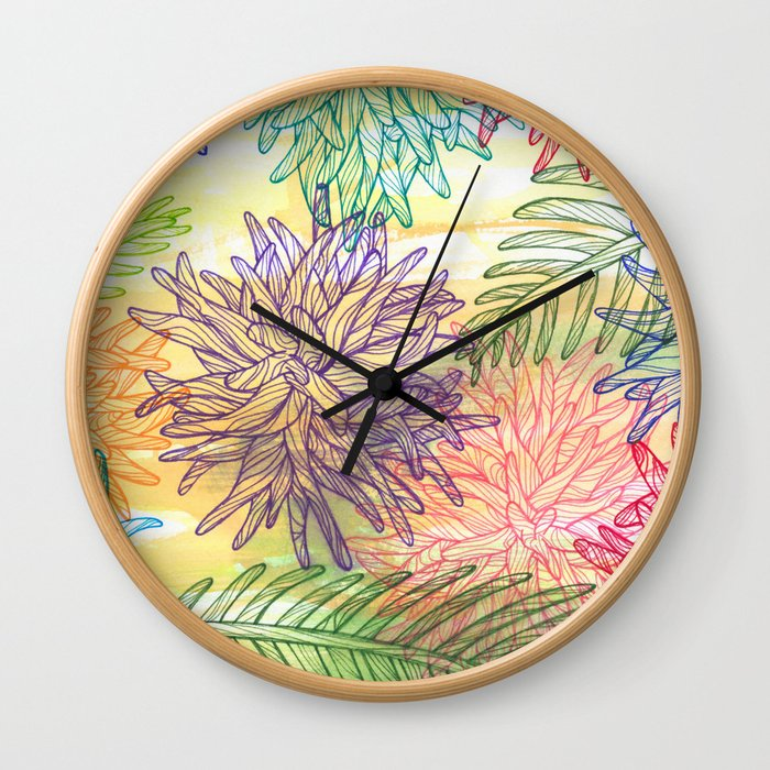 botanica Wall Clock