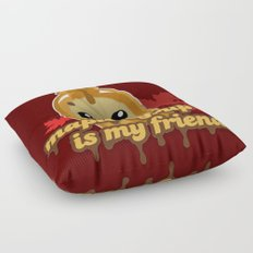 Maple syrup is my friend! Floor Pillow