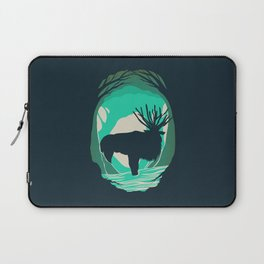 God Of The Forest Laptop Sleeve