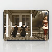scandal iPad Cases featuring The victorian scandal by Britta Glodde