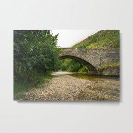 Bridge at Glen Shiel Metal Print