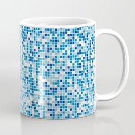Blue tiles background Coffee Mug