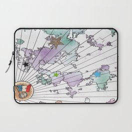 Multiverse Map #2 Laptop Sleeve