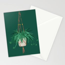 Spider Plant Stationery Cards