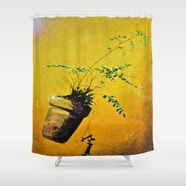 Ferdinand; The Fern that Can Shower Curtain