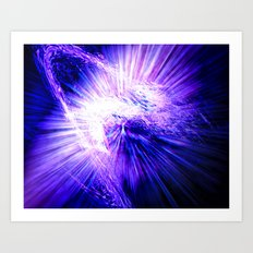 Regeneration in Ultra-violet Art Print