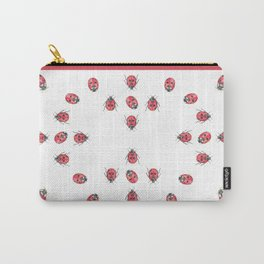 Ladybirds (aka Ladybugs) Carry-All Pouch