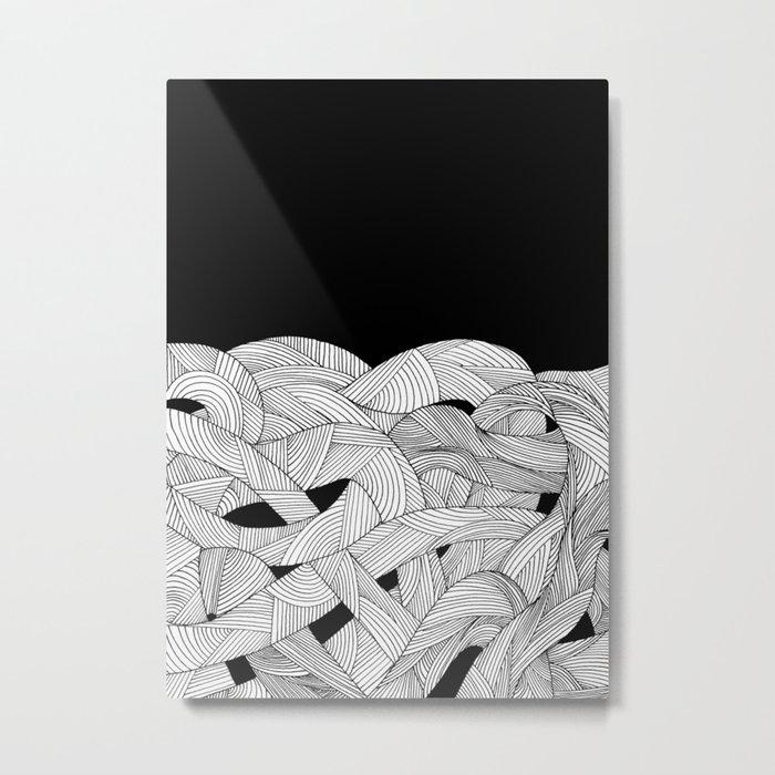 The tangled sea Metal Print