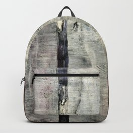 Rainforest Year 2050 (oil on canvas) Backpack