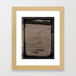 Walkies Framed Art Print