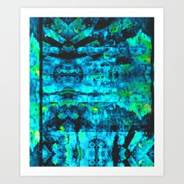 Bioluminescence Art Print