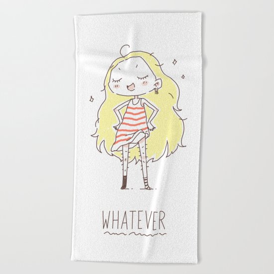 Whatever Beach Towel