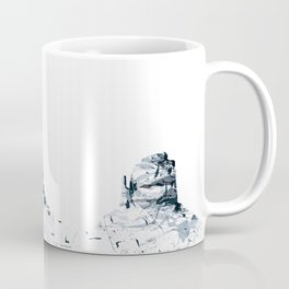 Monument Valley mountainsplash Coffee Mug