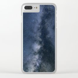 Galaxy Explore Clear iPhone Case