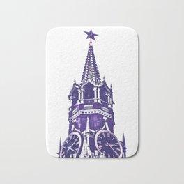 Kremlin Chimes-violet Bath Mat