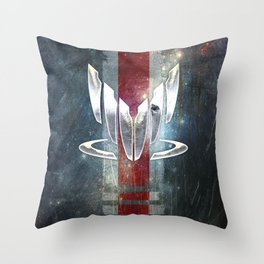 N7 Spectre Throw Pillow
