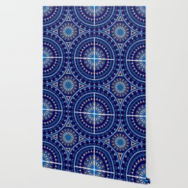 Blue Fire Keepers Wallpaper