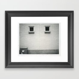 b+w tilburg Framed Art Print