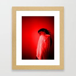 Bloodshot Framed Art Print