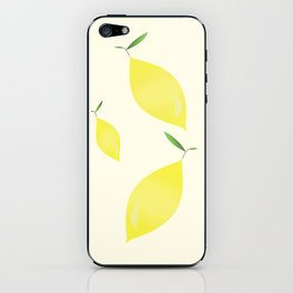 Lemons by Julia Berman iPhone Skin