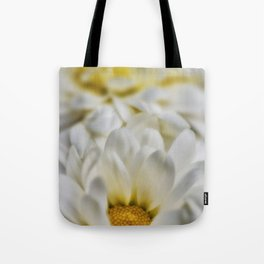 White flowers detail Tote Bag