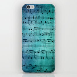 Painted Music iPhone Skin